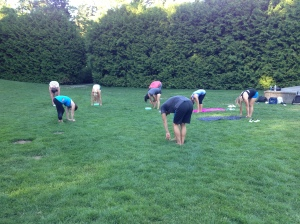 W.O.W. group — July 9, 2014 Yoga