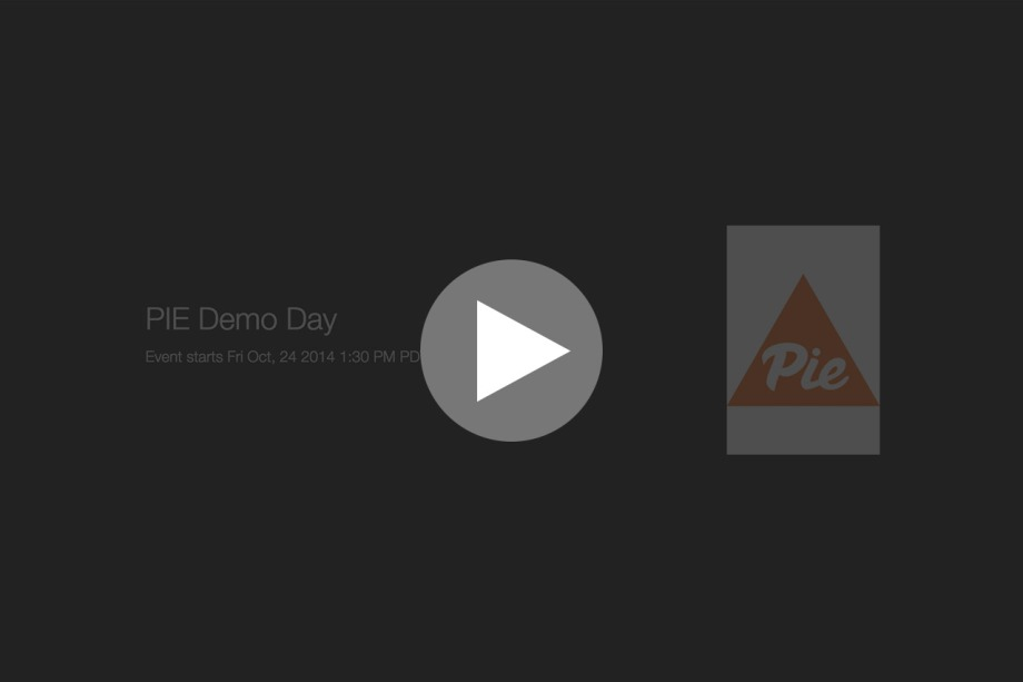PIE Demo Day Livestream Link